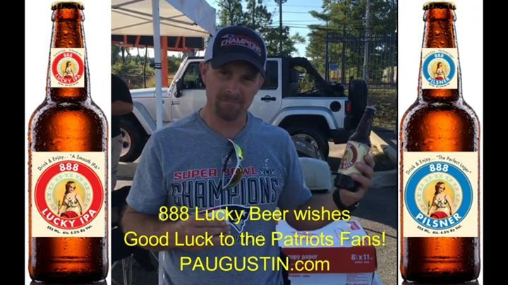 888 lucky beer of washington dc wishes best of luck to new