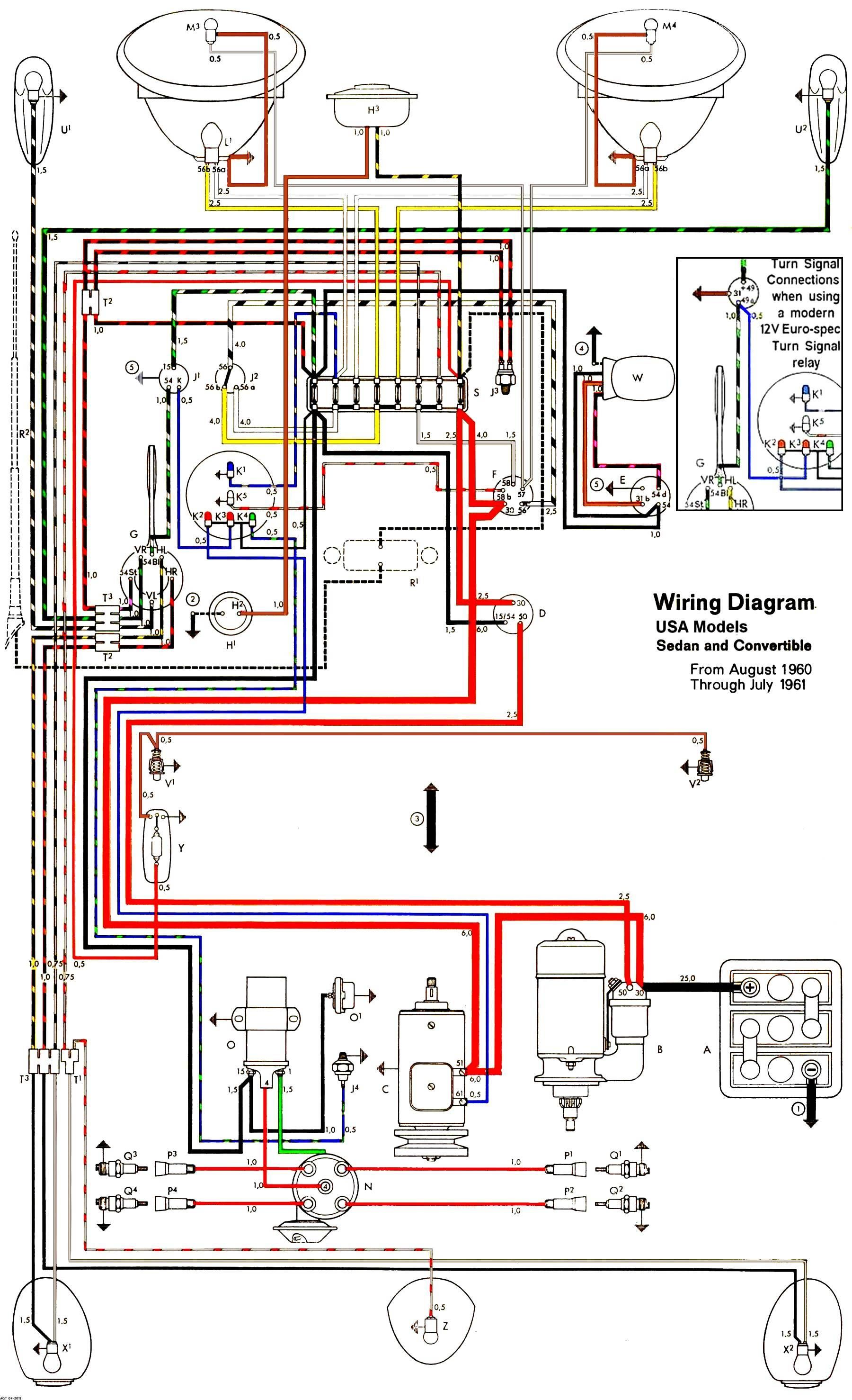 Beetle Fuse Diagram Wiring Schematic In 2020 Vw Super Beetle Electrical Wiring Electrical Diagram