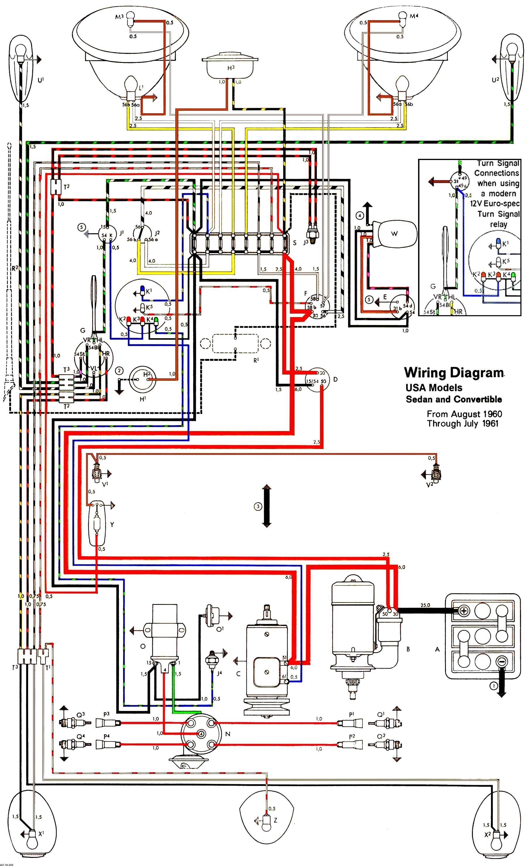 Beetle Fuse Diagram Wiring Schematic In 2020 Vw Super Beetle Vw Beetles Electrical Diagram