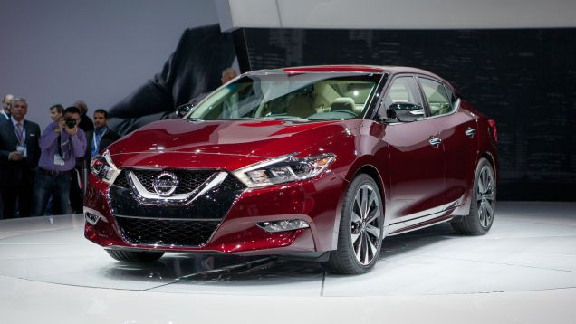 2016 Nissan Maxima A 4 Door Sports Car If Cars Have Fwd And