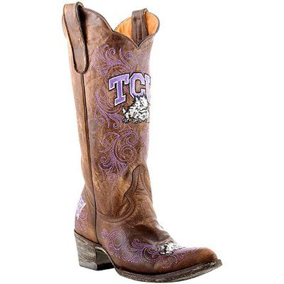 on feet images of nice shoes cheap sale Gameday TCU Horned Frogs Ladies Cowboy Boots   Cowboy boots women ...