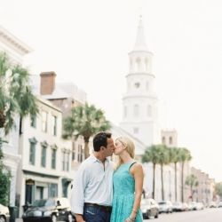Holy City engagement session in the heart of charming Charleston, South Carolina thanks to the fabulous Virgil Bunao