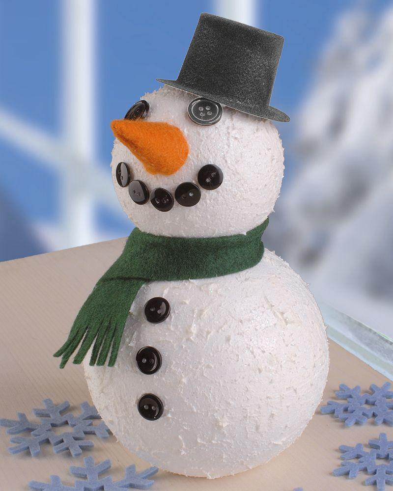 25 einzigartige schneemann basteln styroporkugeln ideen auf pinterest schneemann basteln mit - Bastelideen winter ...
