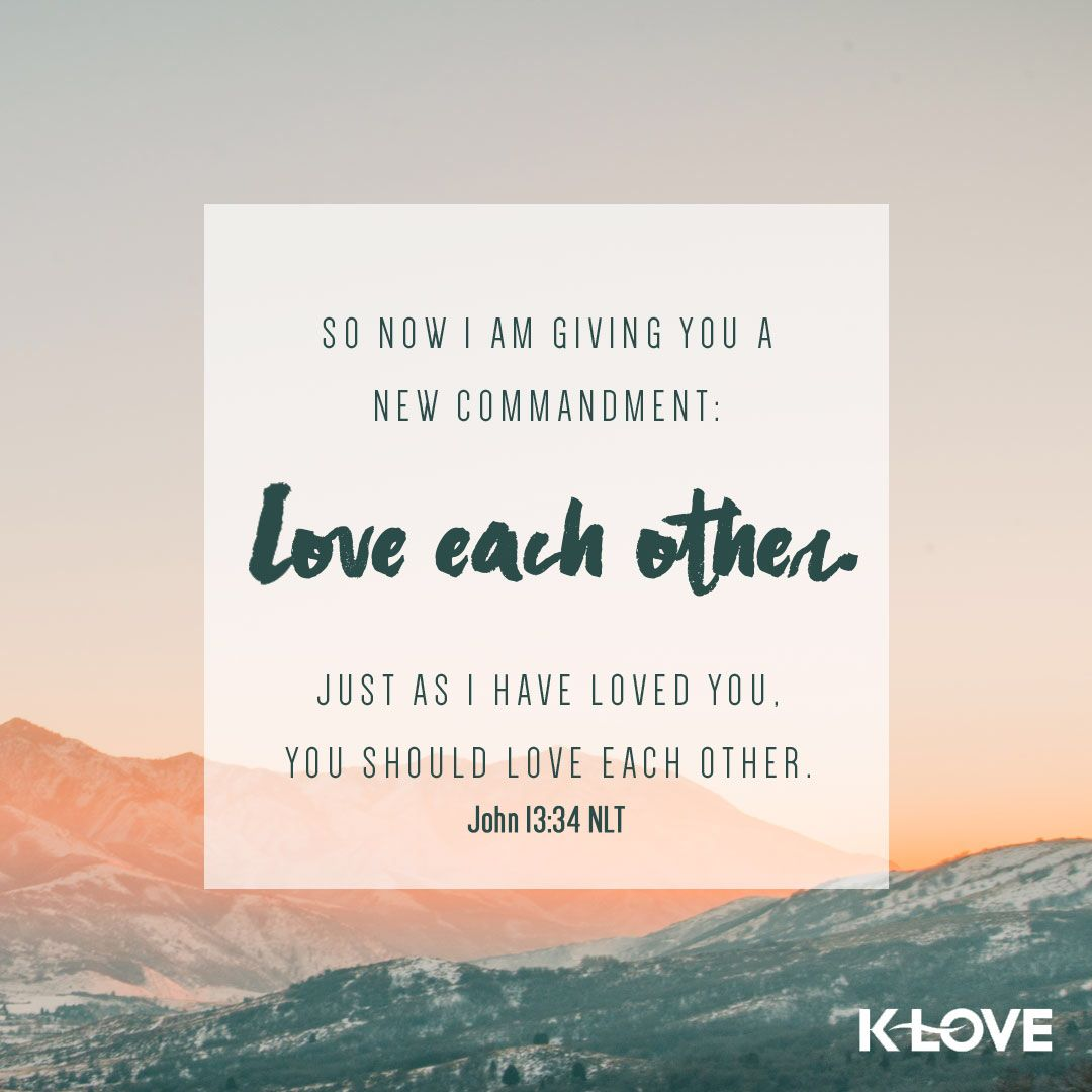 What Bible Verse Talks About Love One Another