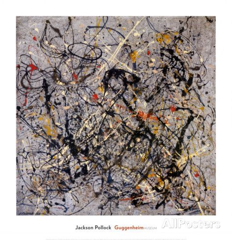Number 18, 1950 Prints by Jackson Pollock - at AllPosters.com.au ...