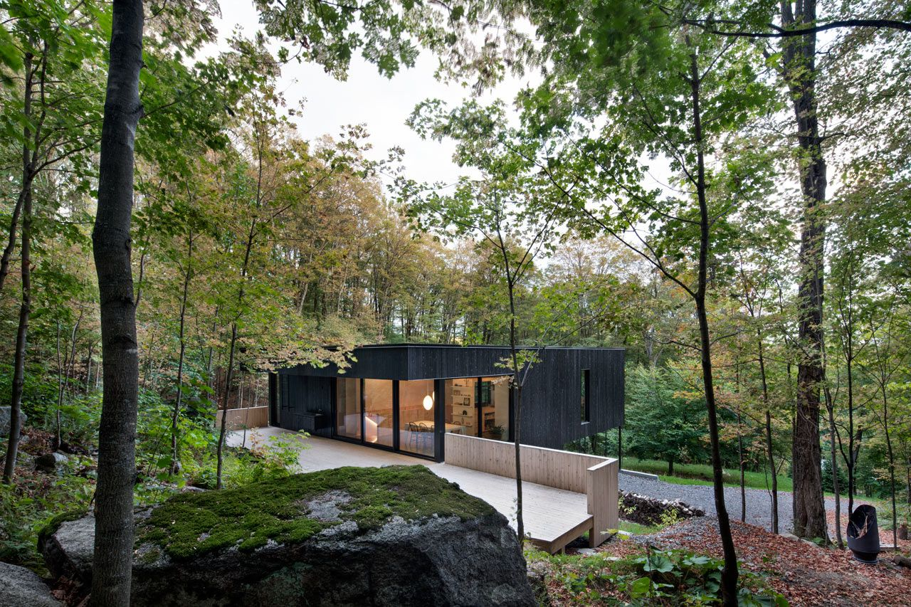 The Rock A Home Built Into A Mountain By Atelier General House On The Rock Architecture Building A House