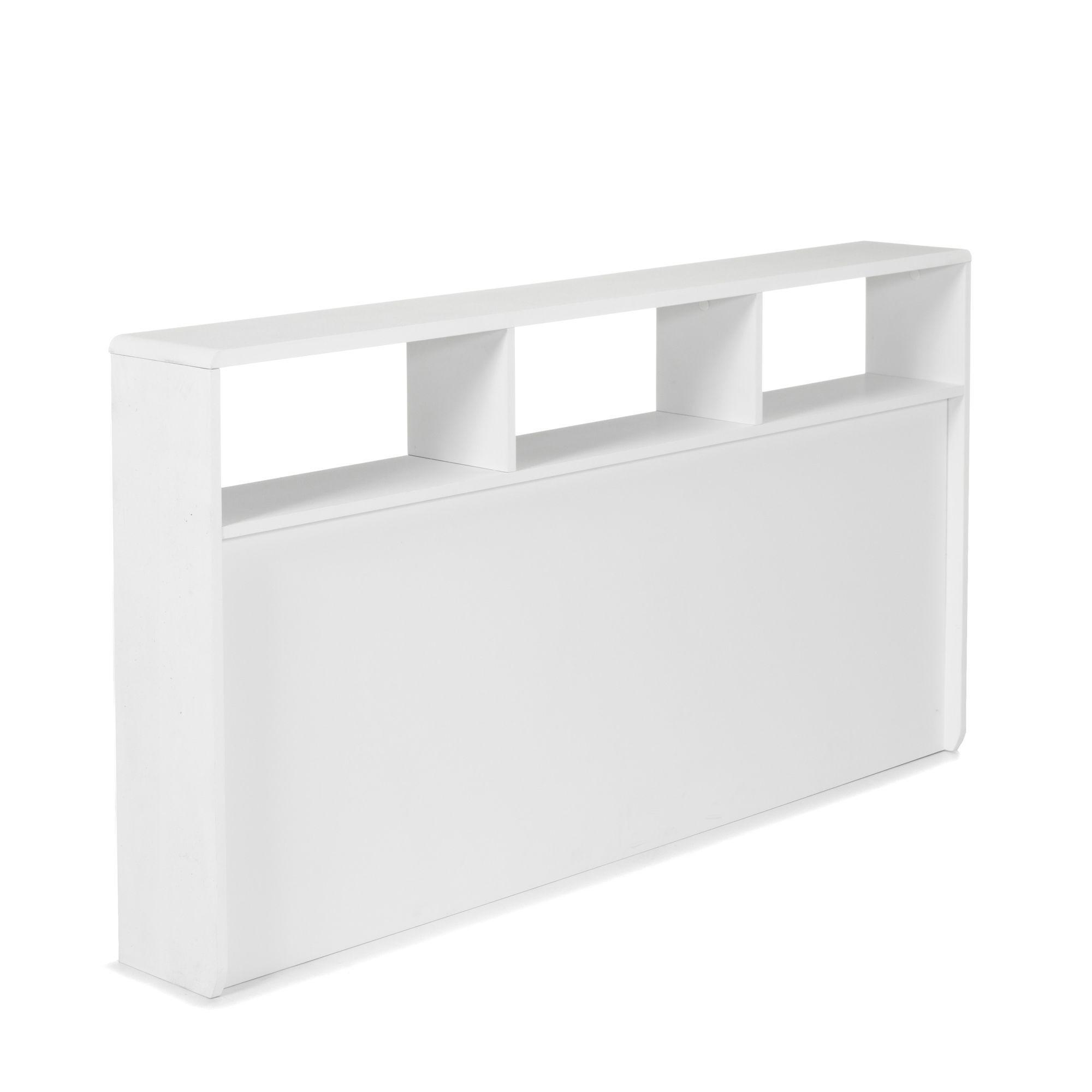 Tete De Lit Pour Lit 140 Cm Blanc Cool Tiroirs Et Tetes De Lit Les Lits Chambre Decoratio Tete De Lit Blanche Tete De Lit En Bois Blanc Lit Rangement
