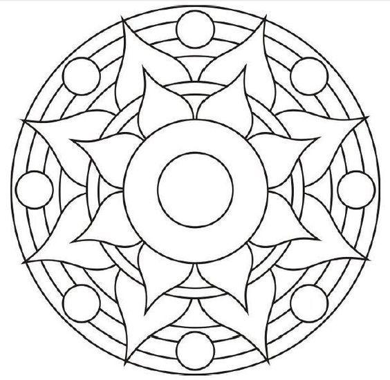 Faciles Para Hacer Con Imagenes Como Dibujar Mandalas