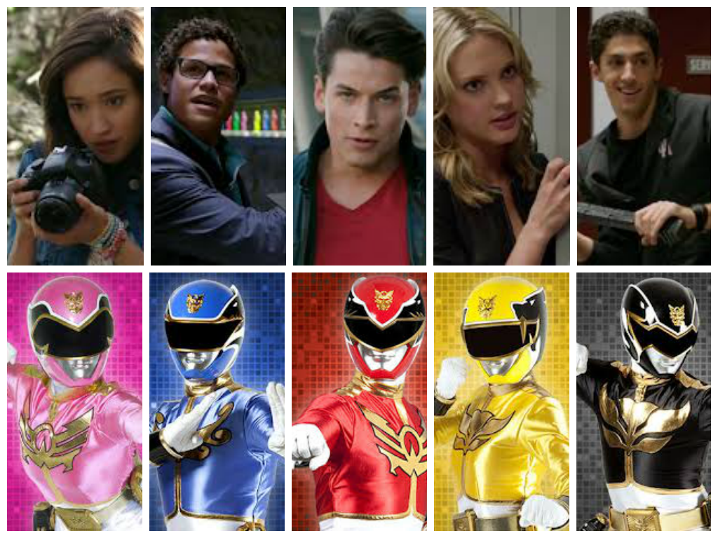 Megaforce Rangers | Power Rangers | Power rangers megaforce