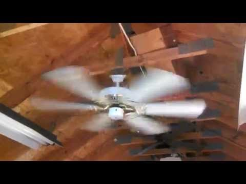 Homestead universal ceiling fan 52 with plexiglass blades youtube homestead universal ceiling fan 52 with plexiglass blades youtube aloadofball Choice Image