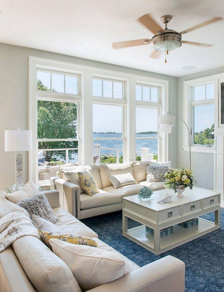 65 Awesome Clean Coastal Living Room Decorating Ideas Coastal Living Room Furniture Beach House Living Room Furniture Coastal Living Rooms