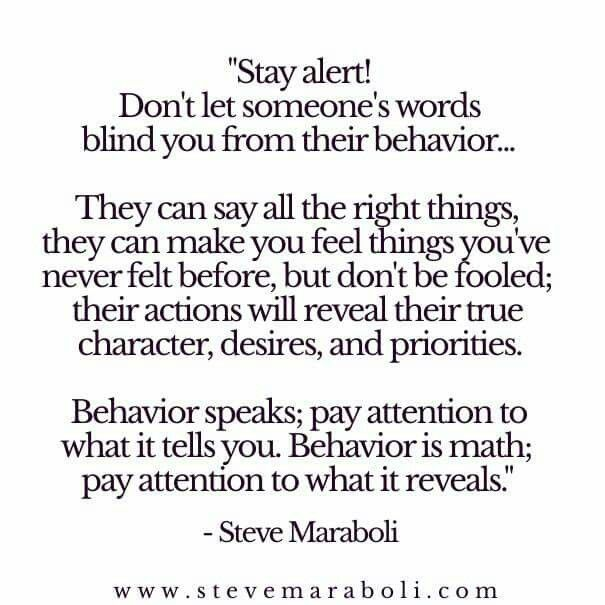 Truth Words Mean Nothing Actions Are Everything Quotes Life