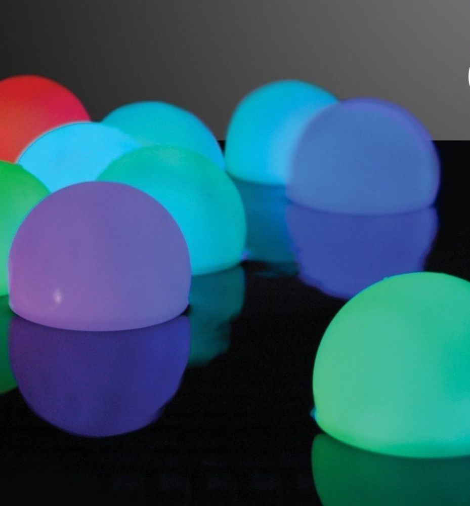 outdoor lighting balls. Set Of 12 Mood Light Garden Deco Balls (Light Up Orbs) : Landscape Lighting Patio, Lawn \u0026 Outdoor 2