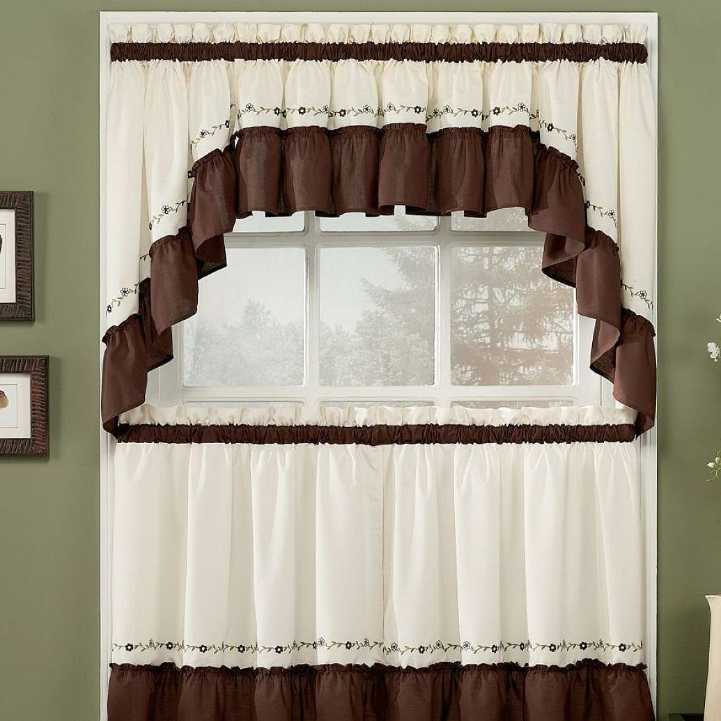 Kitchen Curtains Window Ideas White Lacquered Wood Cabinet Curtain Adorable Designer Kitchen Curtains Review
