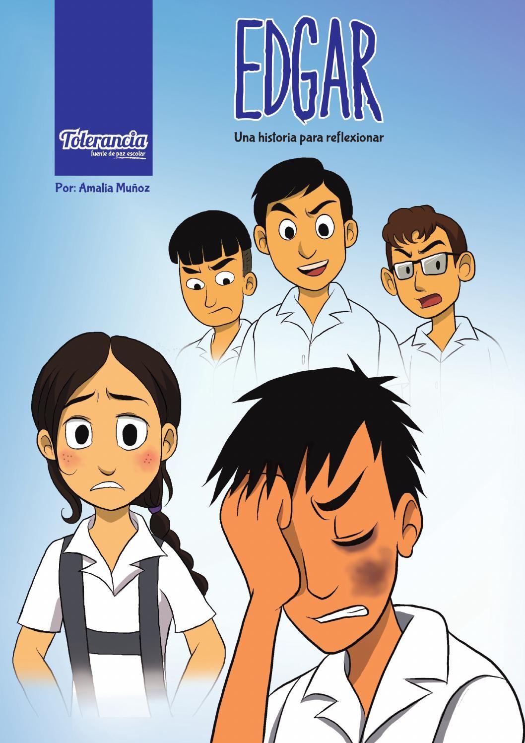 Edgar Comic Sobre La Violencia Escolar Bullying Comics Digital Publishing