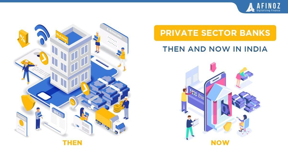 Private Sector Banks In India Then And Now 1000 In 2020 Private Sector Bank Of India Currency Card