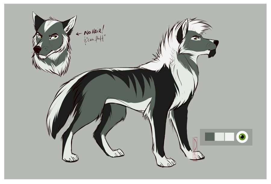 Wolfs Deviantart Google Sok Animated Animals Anime Wolf Dog Art