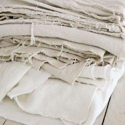 how to bleach a drop cloth