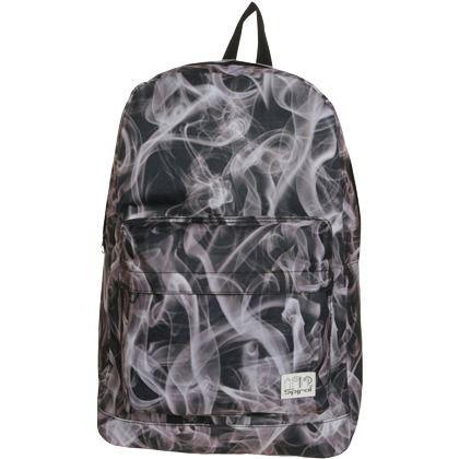 Cooler #Rucksack in #Grau von Spiral Bags. Dieser Rucksack hat ein richtig trendiges #Muster. - ab 29,95 €