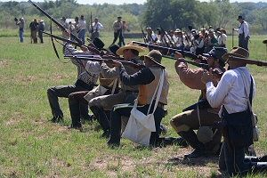 13th Texas Dismounted Cavalry Civil War Reenactment Group