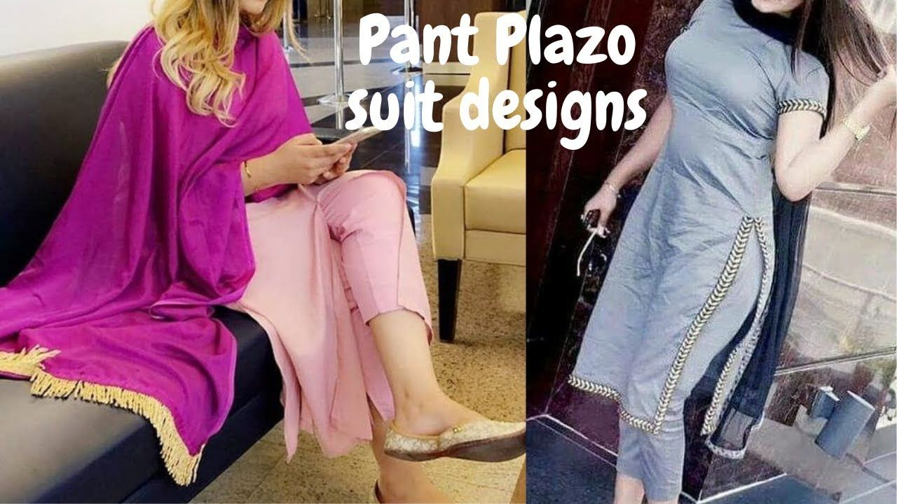 Palazzo Pant Suit Design For Girls