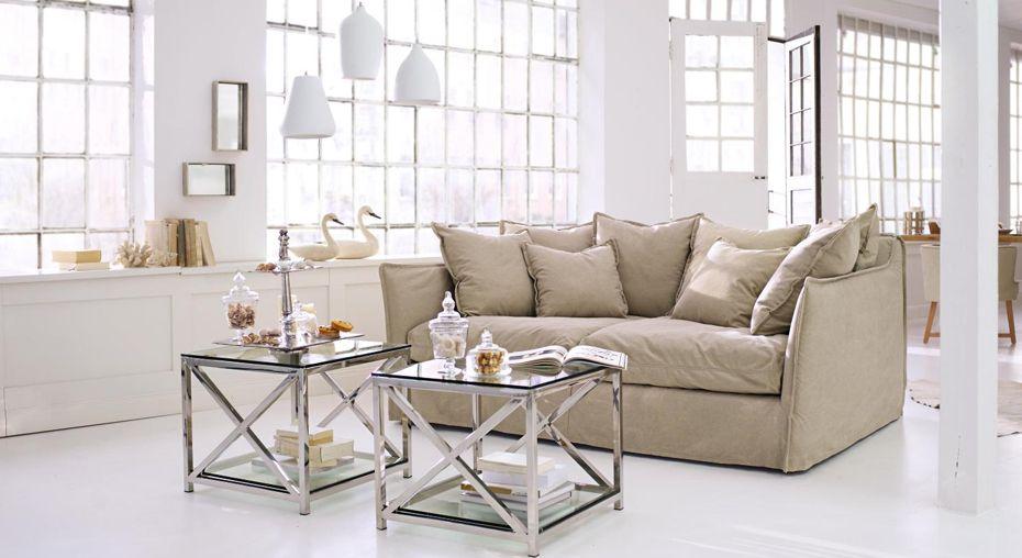 sofa thornton und beistelltisch stamford wohnzimmer. Black Bedroom Furniture Sets. Home Design Ideas