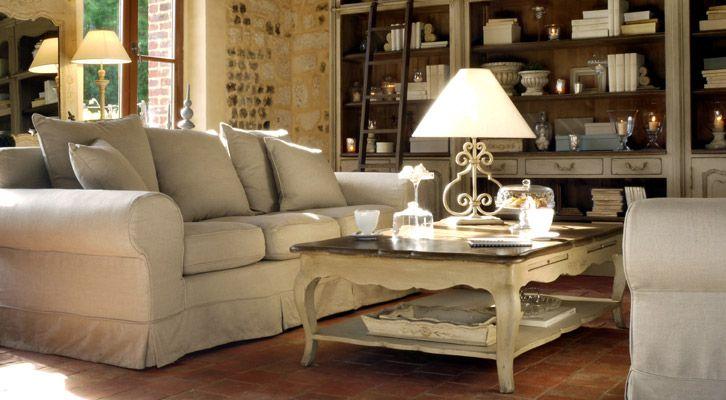 Château s meubles en bois massif canapés et décoration