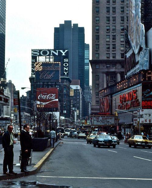 New York City, 1976 © Richard Woods.