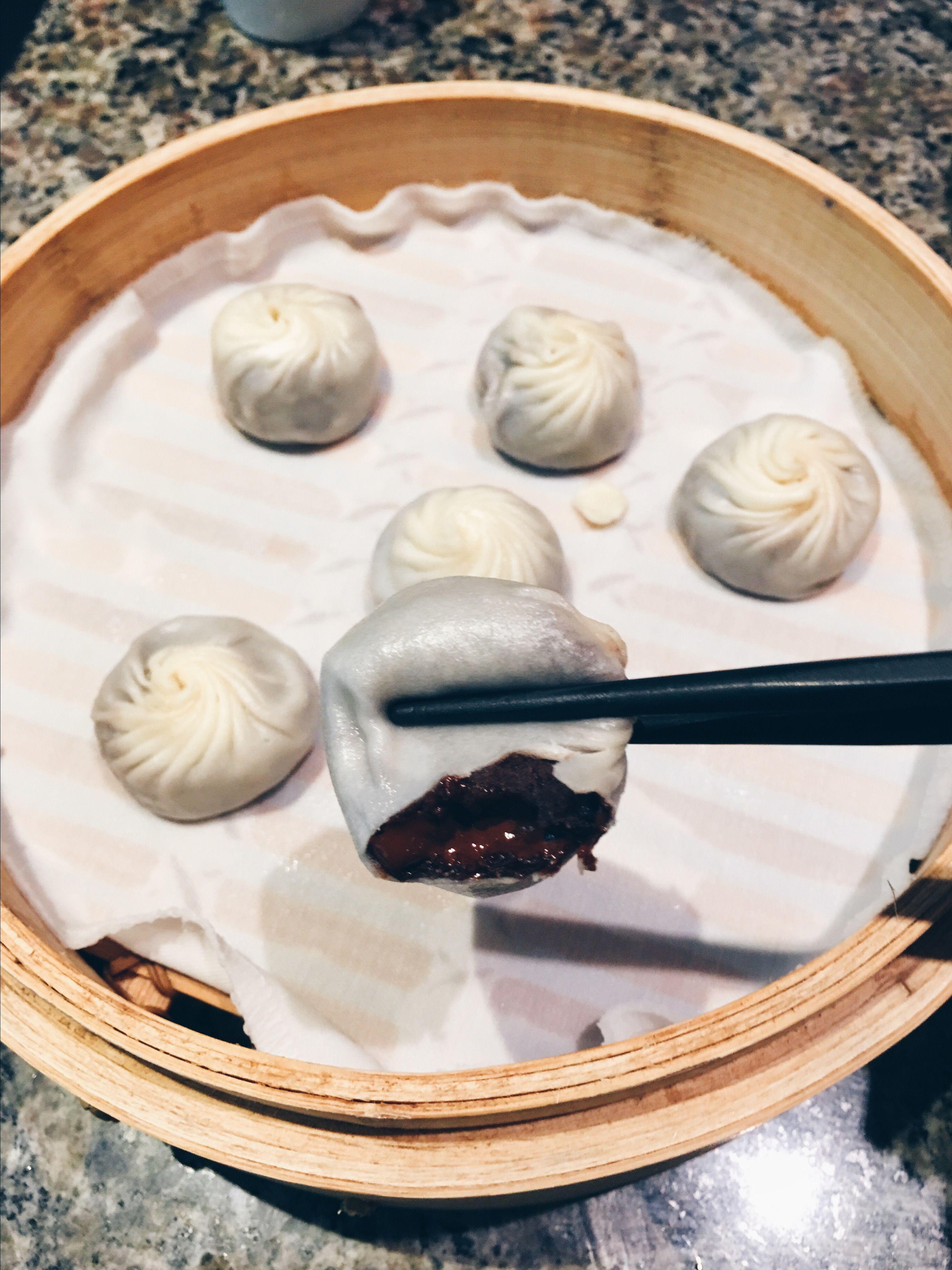 Din Tai Fung Red Bean Chocolate Xiao Long Bao Dampfgarer