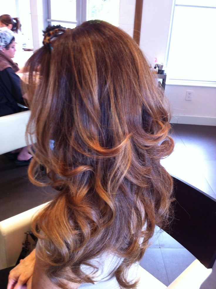 Breathtaking Brownauburn Mix Hairextensions 3 20 Full Head