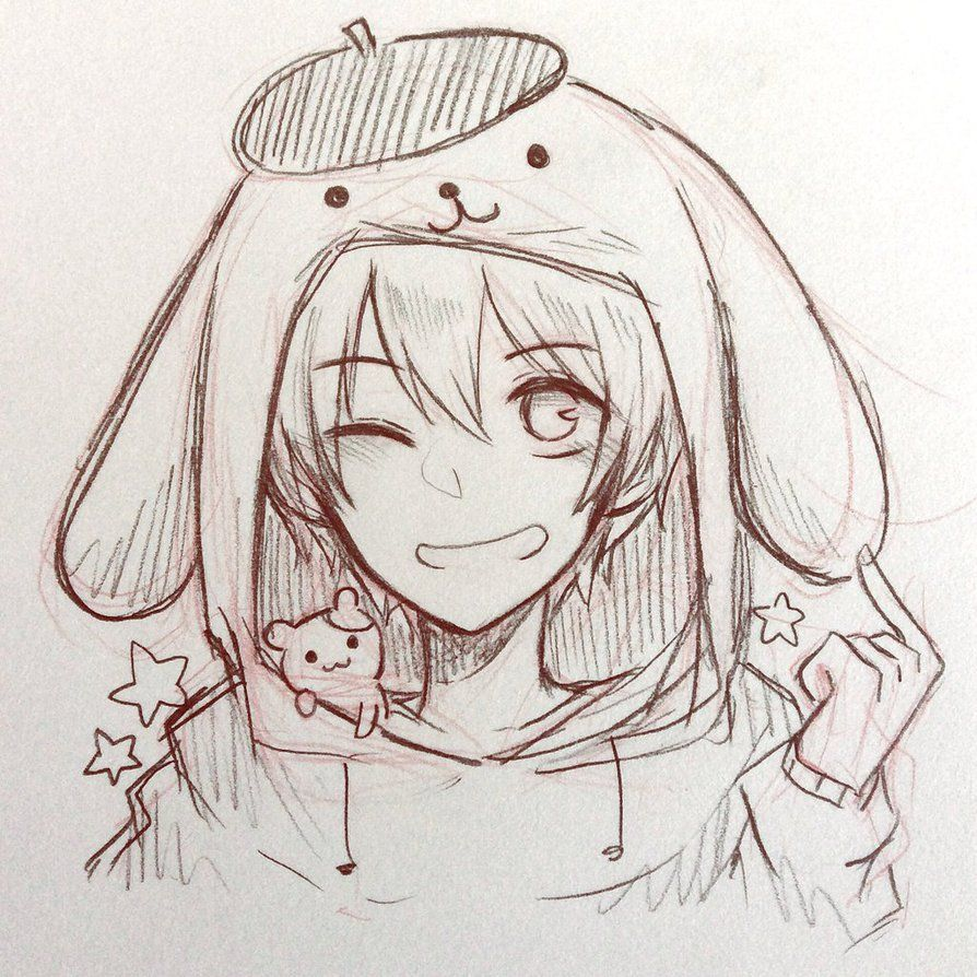 Pompompurin By Ny Ai On Deviantart Art Sketches Manga Art Anime Drawings Sketches