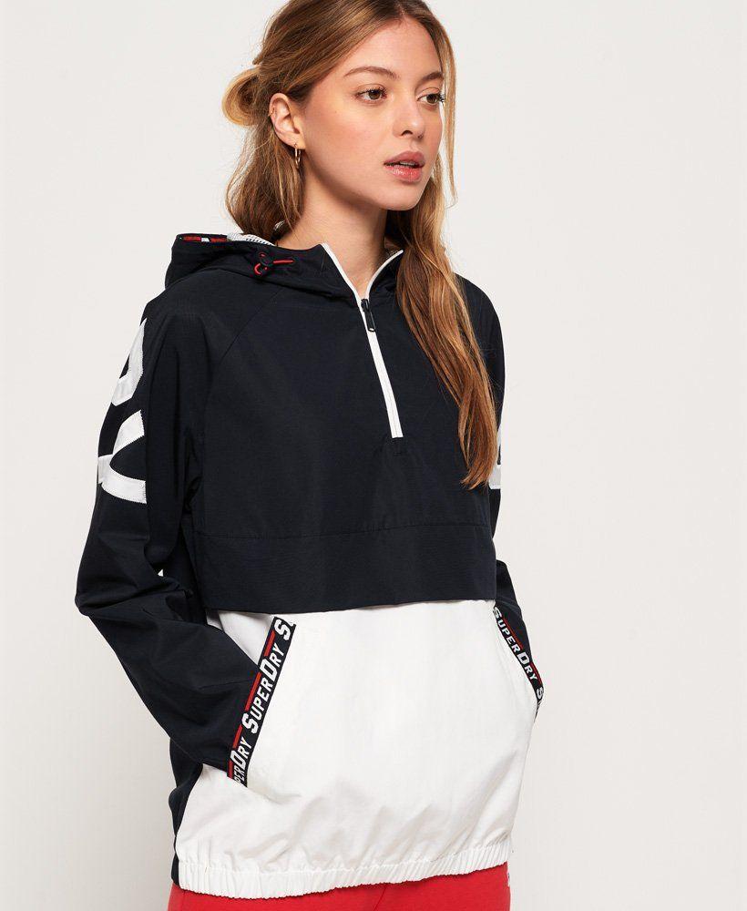 Superdry Colour Block Overhead Jacket Women S Jackets Coats Outerwear Fashion Jackets For Women Girl Sweatshirts [ 1000 x 820 Pixel ]