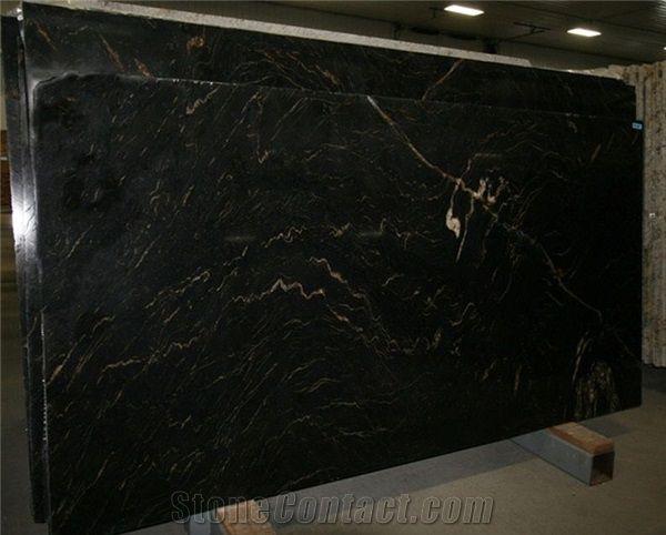 Titanium Granite Slabs Brazil Black Granite Titanium