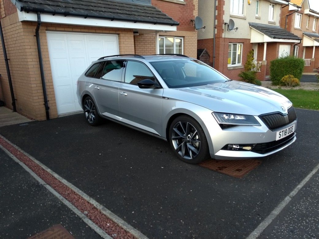 2018 Skoda Superb 4x4 Sportline Estate Dsg Skoda Superb Skoda
