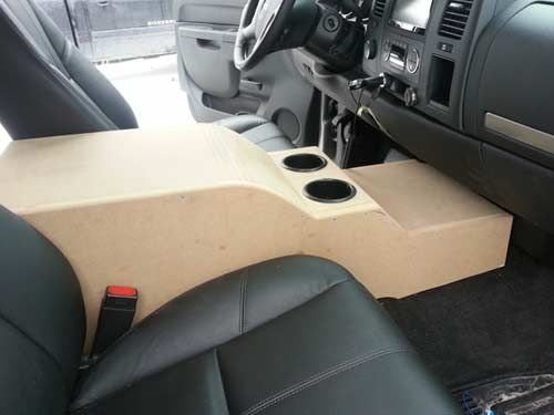 Custom Center Console And Sub Enclosure Build Performancetrucks Net Forums Custom Center Console Custom Silverado Custom Consoles