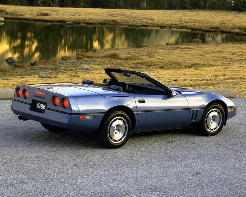 1986 Corvette Chevrolet Corvette C4 Corvette C4 Chevrolet Corvette