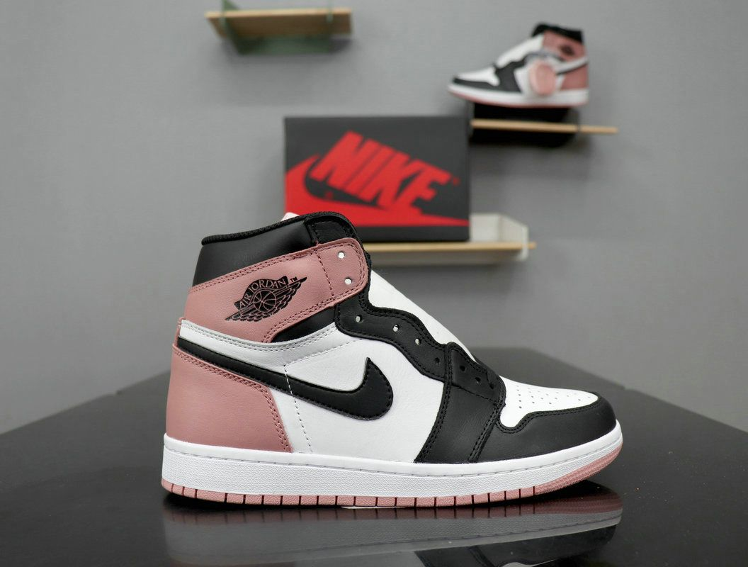 "419f3163926 Nike Air Jordan 1 Retro High OG ""Rust Pink"" 861428-101 