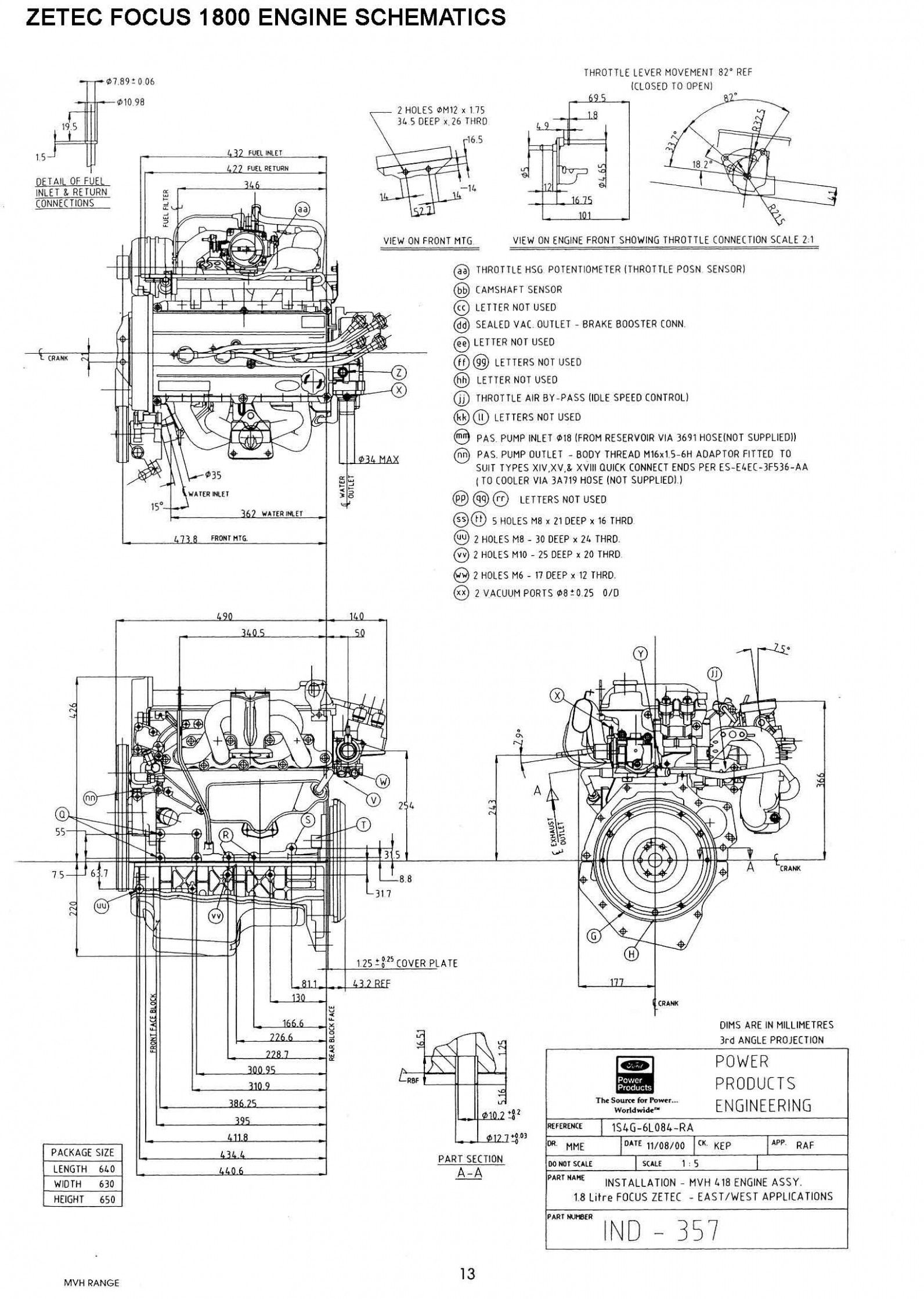 Ford Focus Mk8 Engine Diagram Di
