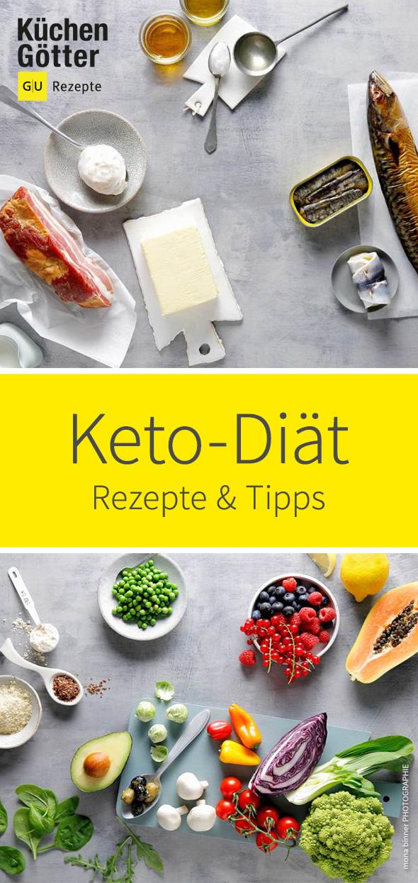 Keto-Diät – Rezepte, Tipps & Ideen zum Abnehmen