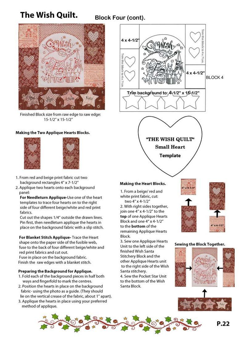 The Wish Quilt Block Four. | Counted cross stitch | Pinterest ... : red brolly wish quilt - Adamdwight.com