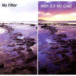 B W 58mm 06 Graduated Neutral Density Filter