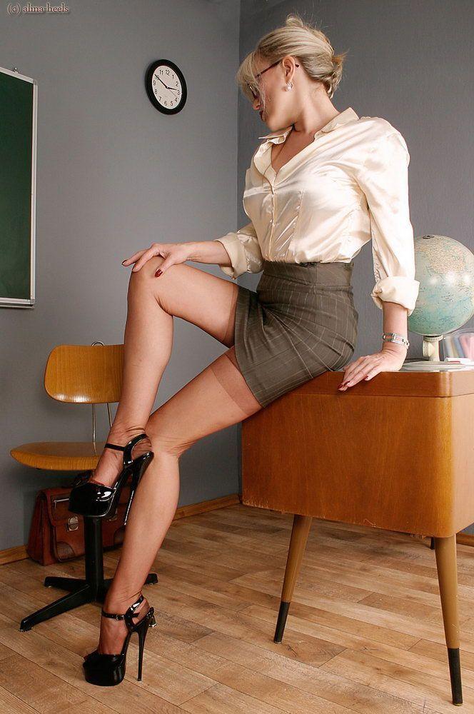 Concurrence sexy school teachers in stiletto accept. opinion