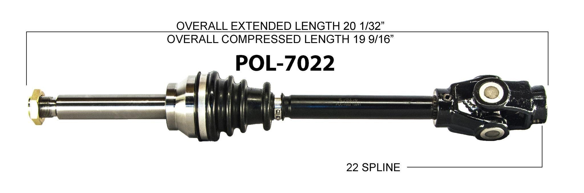 1989 Polaris Trail Boss 250 Front Right Left CV axle shaft