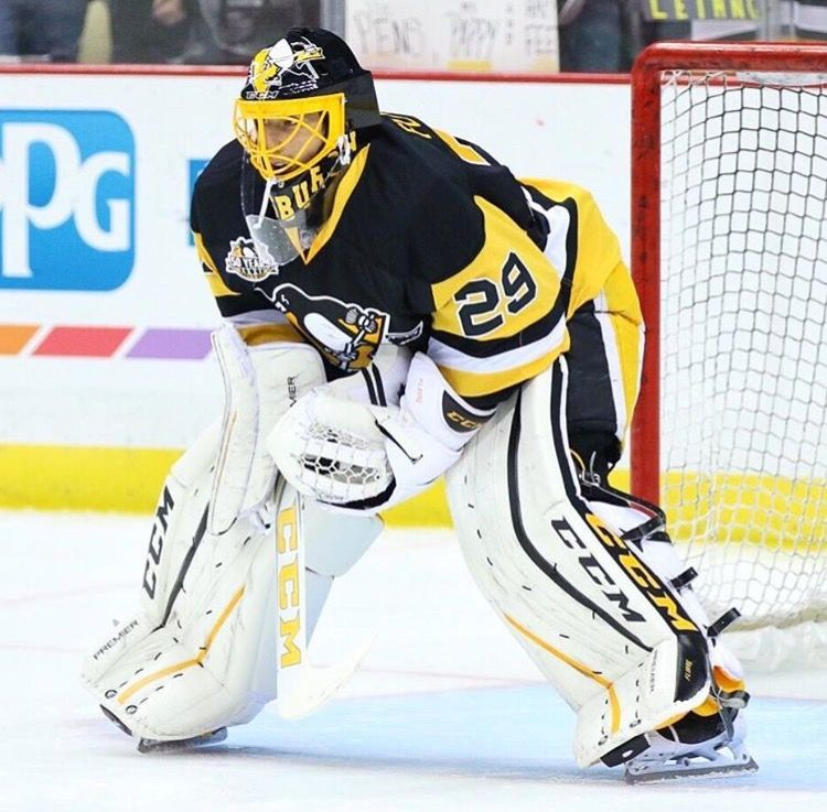 Marc Andre Fleury Pittsburgh penguins hockey, Pittsburgh
