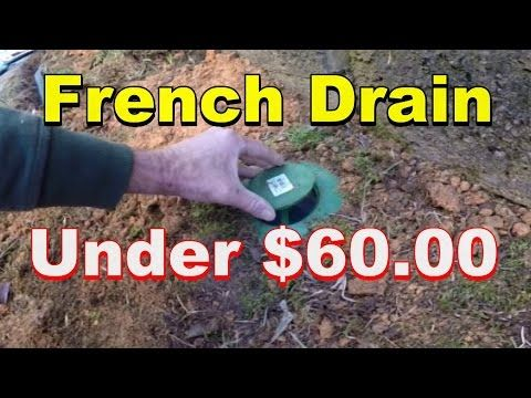 Do it yourself french drain under 6000 youtube projects do it yourself french drain under 6000 youtube solutioingenieria Images
