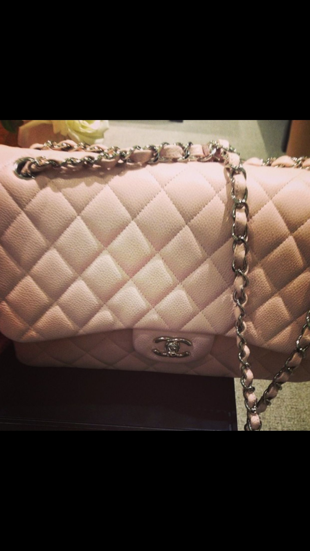 ❤️ the baby pink Chanel