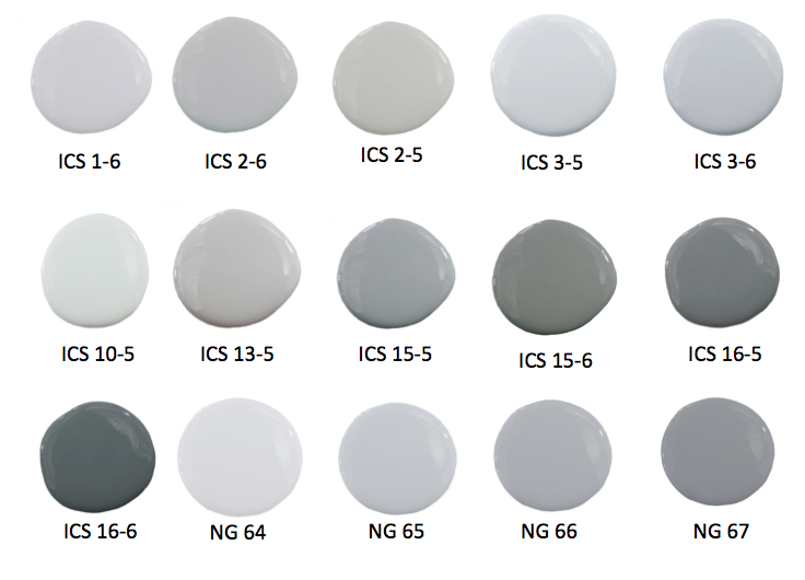 Shades Of Gray Paint three pretty nurseries: decorating with gray | the writing on the