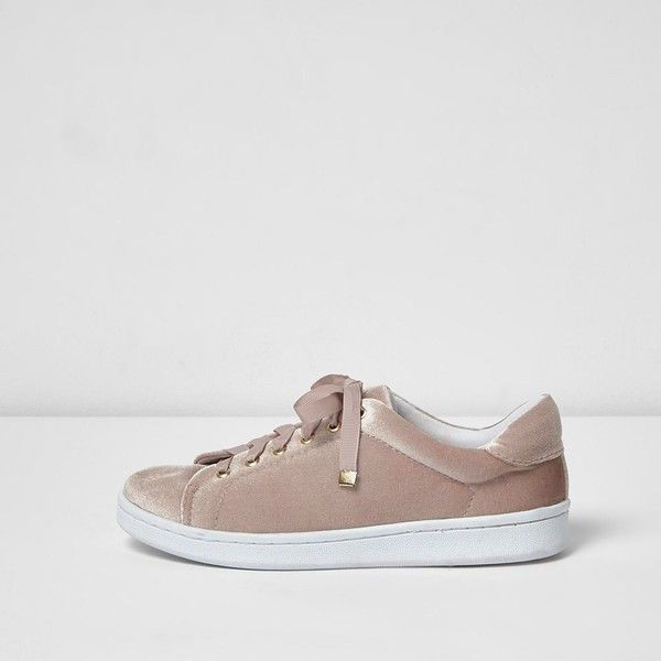 Blush shoes, Lace up trainers, Pink shoes