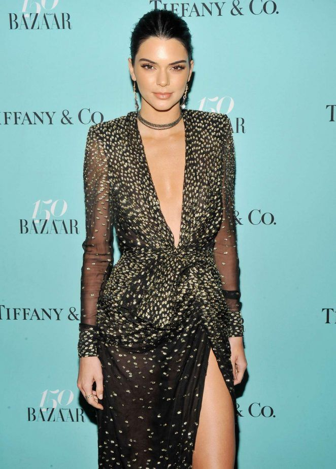 2ab670787e33 Kendall Jenner - Harper s Bazaar and Tiffany and Co Celebrate 150 Years in  NYC