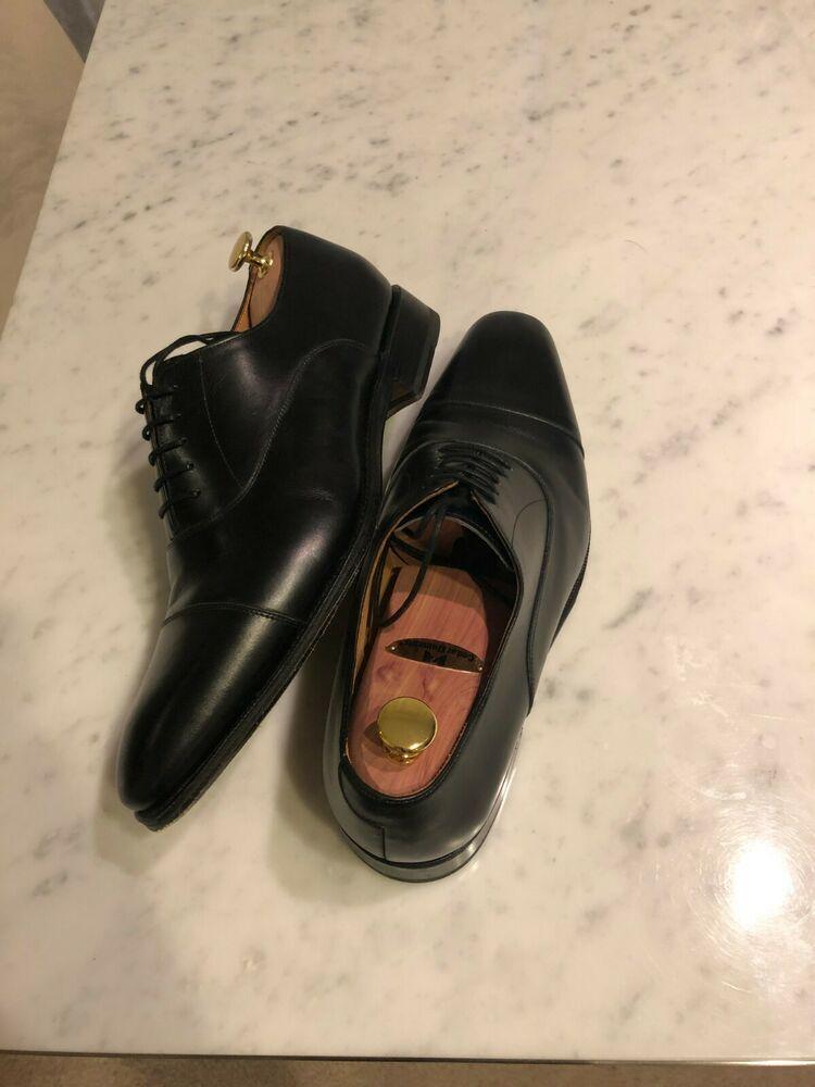 Stacy Adams Men/'s Pierce Slip On Cognac Leather Moc Toe Bit Loafers 25245-221